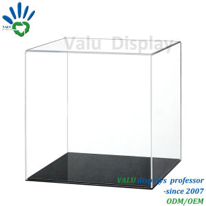 Facendo pubblicità alla scatola di presentazione acrilica del giocattolo, memorizzare il contenitore di cubo della visualizzazione