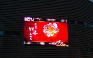 Affichage LED à montage mural écran couleur de plein air