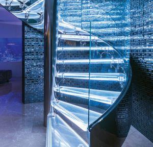 Vidro temperado curvo/dobrados para mobiliário/Prédio de vidro com marcação CE