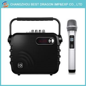 2018 Новые караоке портативный беспроводной микрофон громкие голоса усилитель