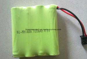 코드가 없는 전화를 위한 Ni MH AAA500mAh 4.8V 건전지 팩