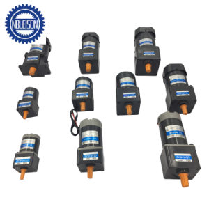 90W 220 Voltios AC Motor Eléctrico con caja de cambios a 90mm