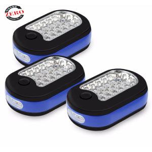 Carcasa de ABS 24 LED imán potente luz de inspección