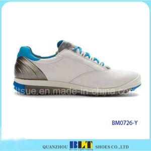 Sapatas quentes do golfe da forma dos homens da venda