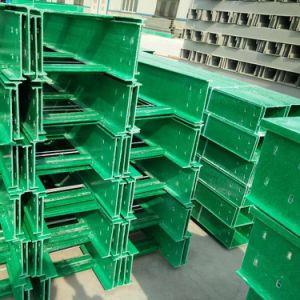 B-Line de Material FRP bandeja para cables y adaptadores para la fábrica.