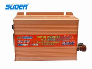 Suoer Inversor de potencia 500W inversor de energía solar 48V 220V de onda senoidal modificada Inversor de potencia (FAA-500F)