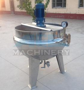 Jarro com camisa de duplo de aço inoxidável com agitador de raspador (ACE-GCC-063184)