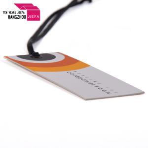 Die Cut Hang Tag Conception/tag tag papier/Swing