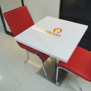 Мраморные камня продовольственной суда обеденный стол вверх для кафе