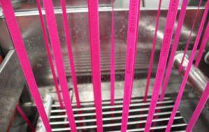 Ce approuvé Bandes élastiques en nylon machine de teinture en continu