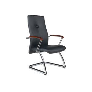 高品質PUの革管理の会合のオフィスの訪問者の椅子(FS-OP-003)