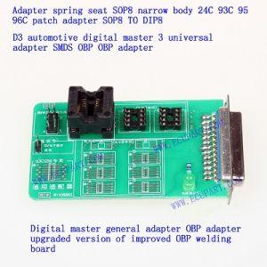 Programmatore automatico del chip dello strumento del tester di Obp Obp CI dell'adattatore di Digitahi dell'adattatore dello SMDS Obp di Obp dell'adattatore 24c 25 93c 95 96c dell'automobile generale matrice dei chip Sop8 Tsop8 Msop8