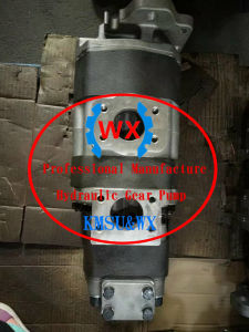Verdadeiro Komatsu Gh320. Gd75s-3. Hm Motoniveladora300-1, Máquina de Caminhões Basculantes fornecidos Komatsu Bomba de engrenagem hidráulica: 705-22-39020
