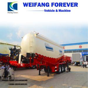 新しい半重負荷の粉の大きさのセメントタンクトレーラーかタンカーのトレーラー