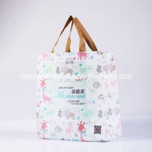 デザイン、非編まれたEcoの友好的なFoldable再使用可能なショッピング・バッグ、綿またはキャンバスのトートバック、ハンド・バッグ、スーパーマーケット袋、衣服またはギフトまたは衣服のNon-Woven袋カスタマイズしなさい