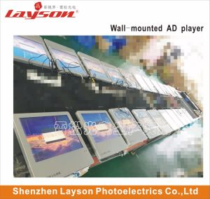43 pouces, lecteur de publicité multimédia Ascenseur réseau WiFi de l'écran HD Digital Signage TFT LCD afficher