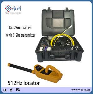 De waterdichte Camera van de Inspectie van het Riool Video met 20m tot 50m de Spoel van de Kabel