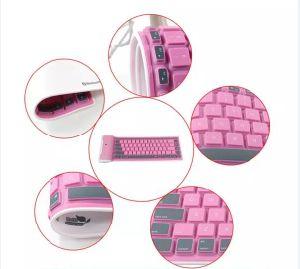 Superventas de silicona suave teclado Bluetooth para iPad