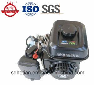 SGS 증명서 바람에 의하여 냉각되는 60V DC 산출 4500W 전차 변환장치 가솔린 발전기 가격