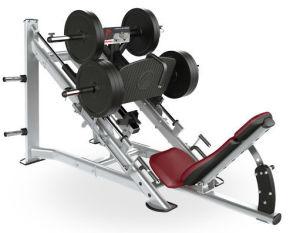 Strumentazione di forma fisica di concentrazione del martello della pressa dei 45 piedini/strumentazione esercitazione di ginnastica
