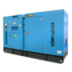 150kVA leiser Typ Dieselgenerator mit Kraftstofftank auf Grundrahmen