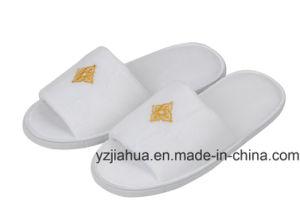 100% coton Étoiles pantoufle velours lavable