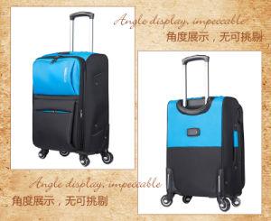 Nueva fábrica de China poliéster Bolsa de viaje Set de equipaje Equipaje Carro Oxford con una buena calidad