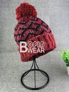 袖口が付いている卸し売りカスタム柔らかいニットの帽子