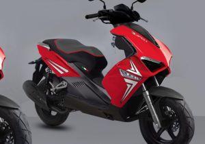 Fórmula 50 125 150 euros 4 exclusivo motor scooter 50cc 125cc 150cc scooter del gas A9