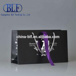선물 새로운 종이 봉지 검정 (BLF-PB148)
