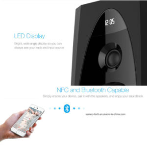 텔레비젼 Bluetooth 스피커 리모트 2.0 탑을 지면 서 있는 T60X 가정 극장