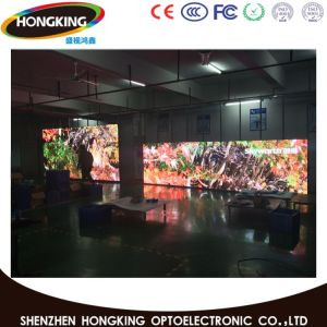 Une vision parfaite effet Indoor P6 sphère pleine couleur LED