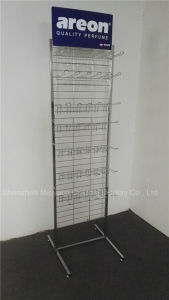 Отдельно стоящие больших прочный крюк висящих Electroplating подставка для дисплея