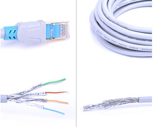 1 metro de cable UTP Cat. Cable de conexi n 5E.