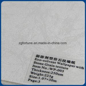 壁紙の石造りの穀物の質の印刷のEcoの支払能力がある壁ペーパー