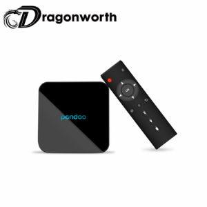 Androide Fernsehapparat-Kasten Pendoo X10 androider Kasten 2g 16g des Android-7.1/3GB 32GB Amlogic S905W Octa-Kern 64 Bits 4K HD BT 4.0 2.4GHz/5.8GHz DoppelbandWiFi Fernsehapparat-Kasten