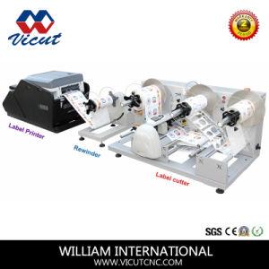 Macchinario automatico di taglio della taglierina del rullo del contrassegno (VCT-LCR)
