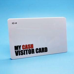 Encodage de données NTAG HF213 plastique de la loyauté de carte RFID NFC