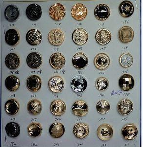La fabbrica del metallo rivetta i forti vestiti a schiocco del distintivo del tasto del rivestimento dei jeans