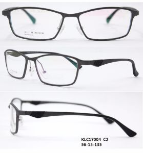 De klassieke Optische Frames van het Aluminium van de Manier (KLC17004)