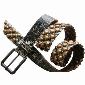 Cinturón de cuero de dama moda (JYB-27033)