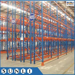 2700x1000x6000mm Duplo Industrial profunda armazenagem de paletes Racks de armazém