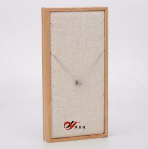 Cassetto semplice della visualizzazione della collana del taglio laterale di stile