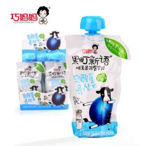 [110غ10] زجاجات ملبّن يمصّ نوع ثمرة شراب جلاتين