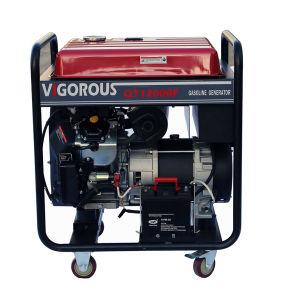3 Phasen-elektrischer Anfang 12000 Watt Benzin-Generator-für Bank-Gebrauch