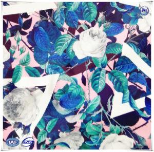 폴리에스테 스판덱스 수영복에 의하여 뜨개질을 하는 직물을 인쇄하는 고품질 주문 디지털