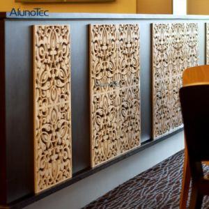 Le restaurant La sculpture CNC plaque en aluminium Expanded Metal Mesh