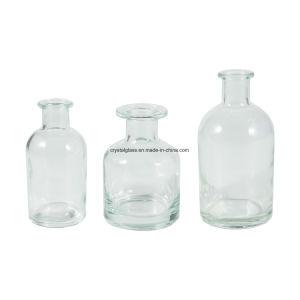Frasco de vidro Aroma Difusor Reed com vime Natual canas