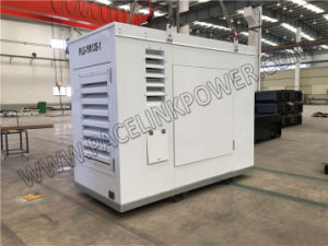 12kVA Yanmar dreef Stille Diesel die Generator aan hoogst met Gescheiden Controlemechanisme wordt aangepast