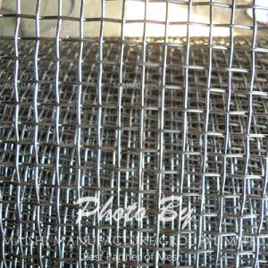 Usine de maille de filtre en acier inoxydable d'alimentation